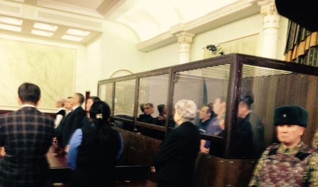 Kazak iş adamına devleti yıkmaya teşebbüsten hapis