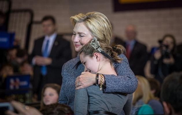Clinton'dan veda mesajı