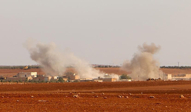 TSK, El-Bab'da DEAŞ hedeflerini vurdu