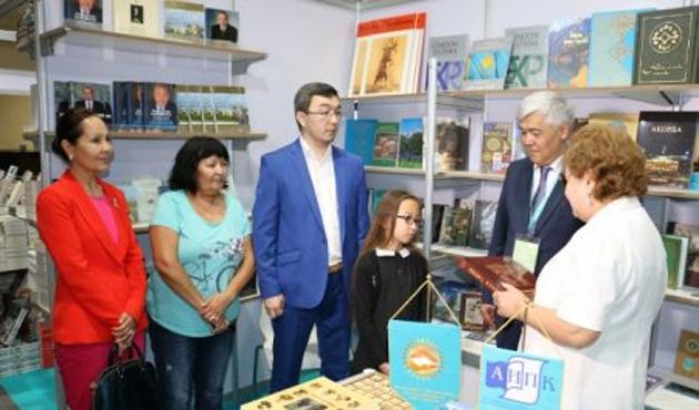Kazakistan'da Avrasya 2016 Kitap Fuarı açıldı