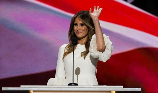 ABD'nin 'Yeşil Kart'lı First Lady'si Melania Trump