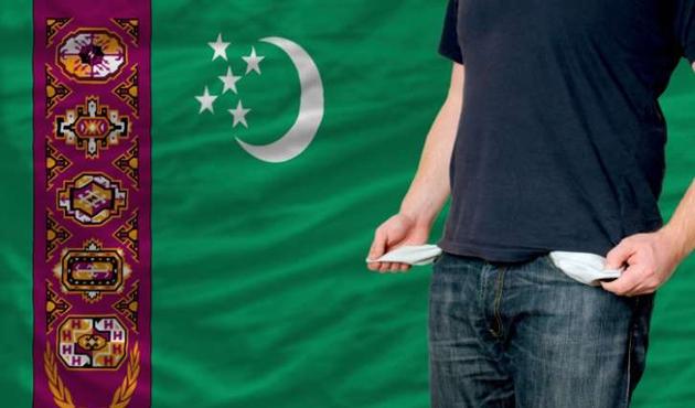 Türkmenistan ekonomik krizde