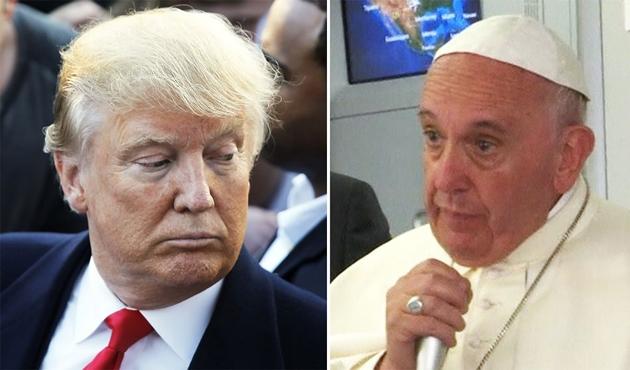 Vatikan'dan Trump'a aydınlanma duası !