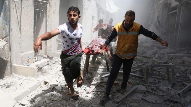 Rus ordusu Halep'i imhaya hazırlanıyor