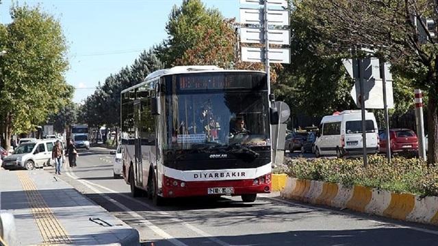 Diyarbakır'da vatandaşlara ücretsiz ulaşım