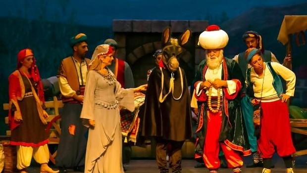 Mersin'de minikler için 'Nasreddin Hoca Operası'