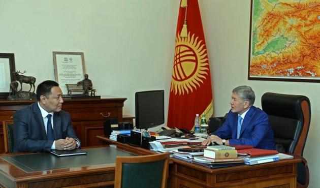 Kırgız lider korumasını Bakan yaptı