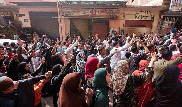 Mısır'da 'Garibanlar Devrimi' bastırıldı! | FOTO
