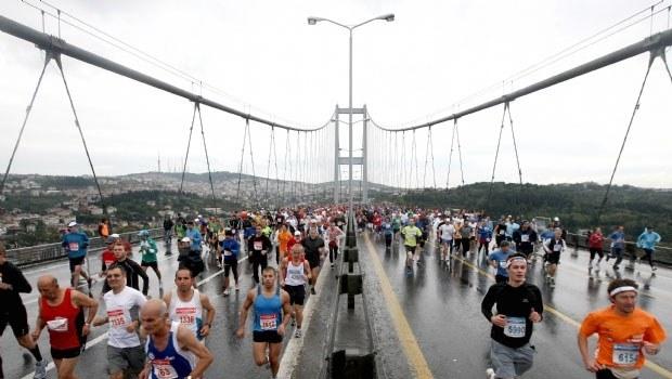 Maraton koşusu için kapanacak yollar