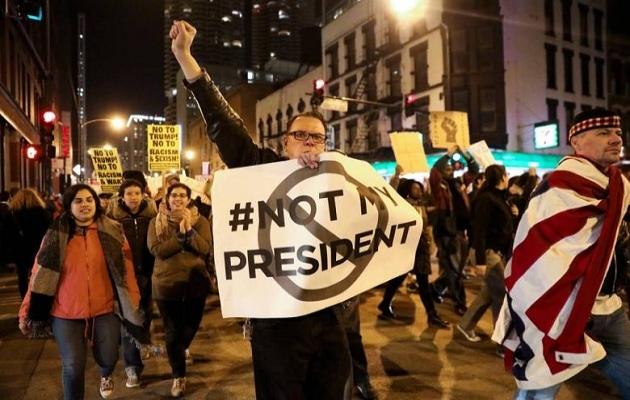 ABD'de 'protestolar' hız kesmedi