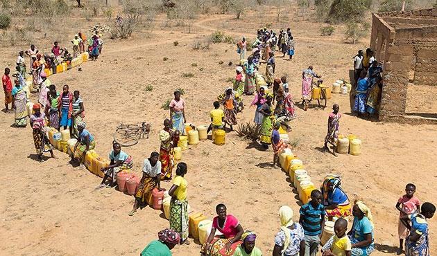 Kenya'da 300 bin kişi suya muhtaç