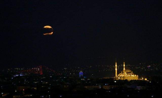 Türkiye'den Süper Ay görüntüleri | FOTO