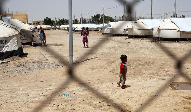 Irak'ta her gün bin 850 kişi yerinden ediliyor