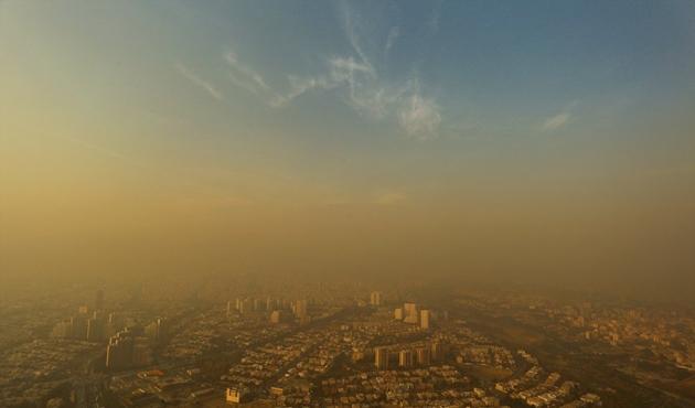 Tahran'da hava kirliliğinden okullar tatil   FOTO
