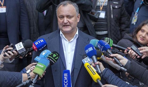 Moldova'da zafer Rusya yanlılarının