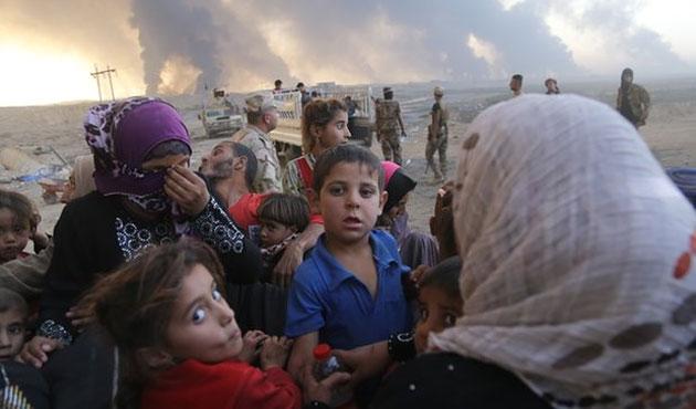 Musul'da 18 bin kişilik yeni mülteci kampı