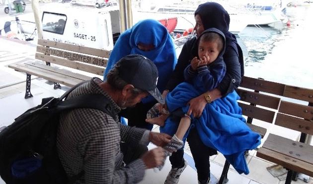 Ege Denizi'nde 23 yabancı uyruklu yakalandı