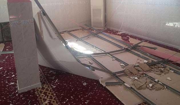 Dargeçit'te PKK'lıların zarar verdiği camiler onarıldı