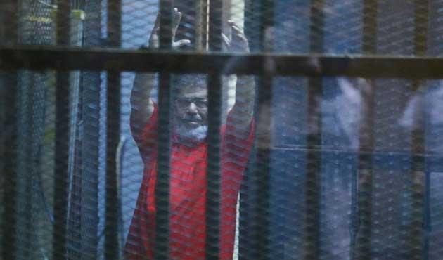 'Mursi'ye müebbet' bozuldu