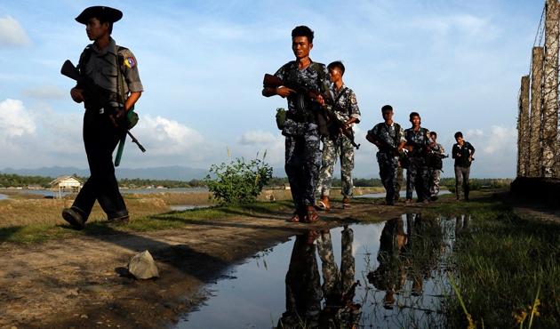 Myanmar hükümeti 31 Arakanlıyı gözaltına aldı