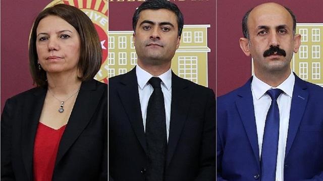 HDP'li 3 vekilin tutukluluğuna yapılan itiraza ret