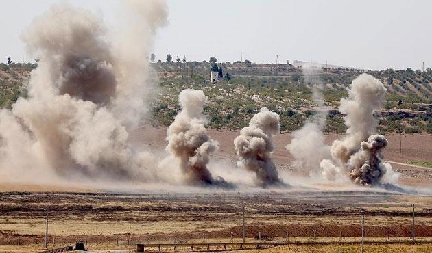 Fırat Kalkanı'nda 157 DEAŞ hedefi vuruldu