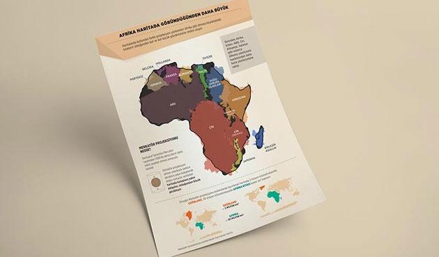 Haritalarda ideoloji; Afrika göründüğünden çok büyük