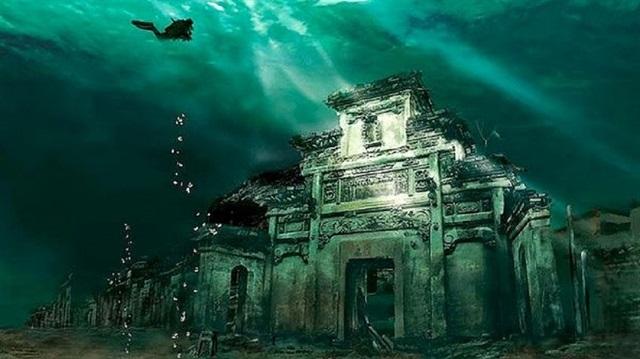 Taş devrine ait su altı şehri bulundu