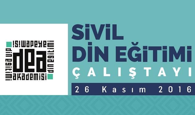 Üsküdar'da 'sivil din eğitimi' paneli