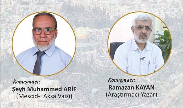 İstanbul'da 'Gündemimiz Mescid-i Aksa' etkinliği