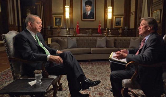 Erdoğan Amerikan '60 Dakika'ya konuştu