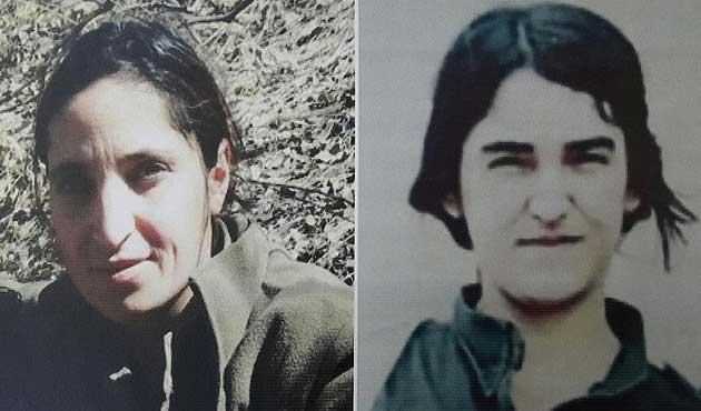 Eylem hazırlığındaki 2 kadın PKK'lı aranıyor