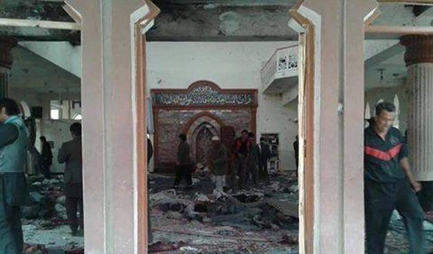 Kabil'de camiye saldırı: 27 ölü