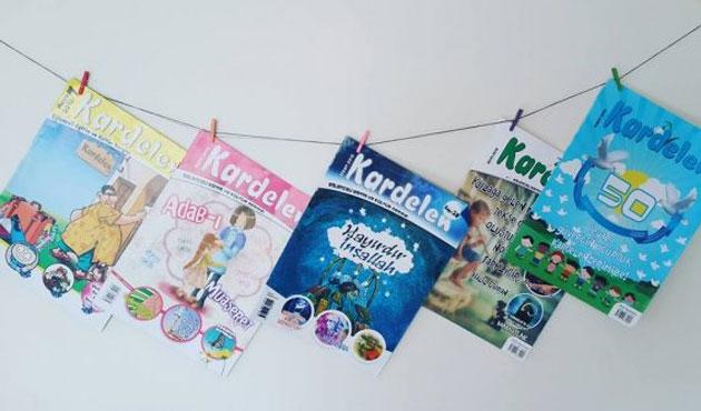 Makedonya'da Türk çocukları için bir dergi; Kardelen