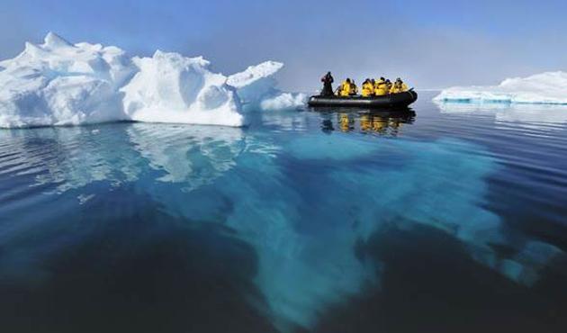 Kuzey Kutbu ısınıyor