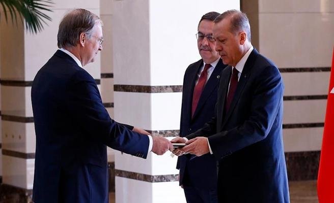 Erdoğan, AB Türkiye Delegasyonu Başkanı'nı kabul etti