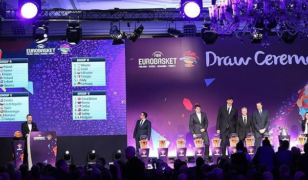 EuroBasket 2017'de rakipler belli oldu