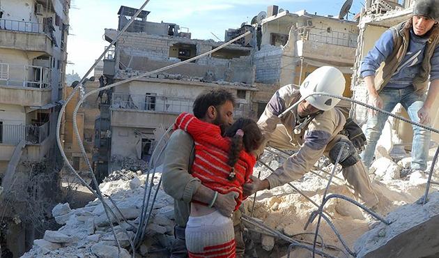 Rejim güçleri Halep'te yerleşim yerini vurdu: 4 ölü