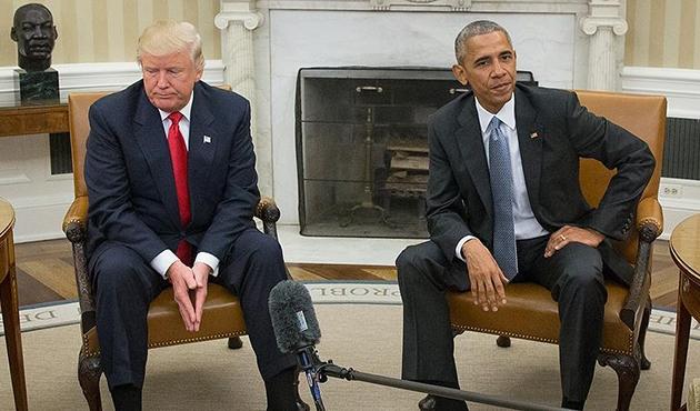 Beyaz Saray'dan Obama-Trump açıklaması