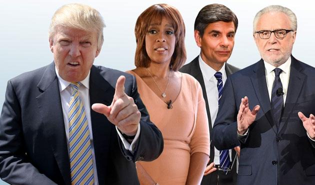 Trump'tan ana akım Amerikan medyasına salvolar