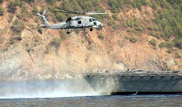 Marmaris'te 11 ülkenin katılımıyla askeri tatbikat