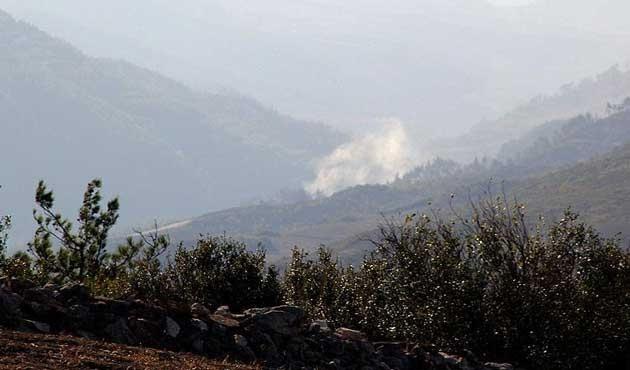 Rejim güçleri Türkmen Dağı'nı vuruyor