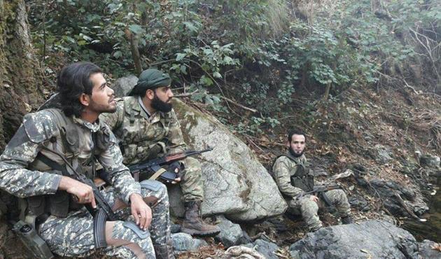 Suriye güçleri Türkmendağı'ndan püskürtüldü