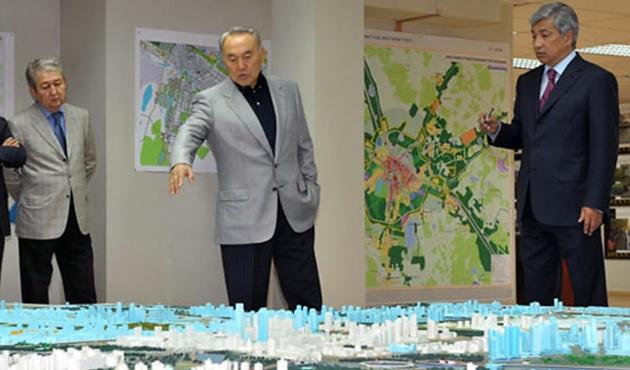 Kazakistan'da başkente Nazarbayev'in adı verilebilir