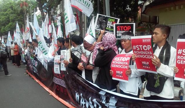 Endonezya ve Tayland'dan Arakanlılara destek