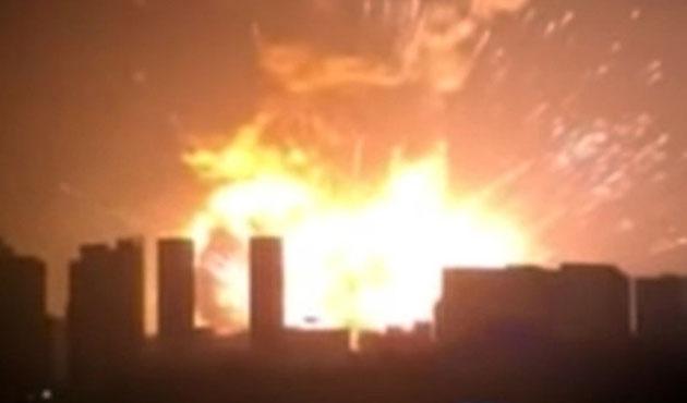 Çin'de askeri fabrikada patlama; 12 Ölü