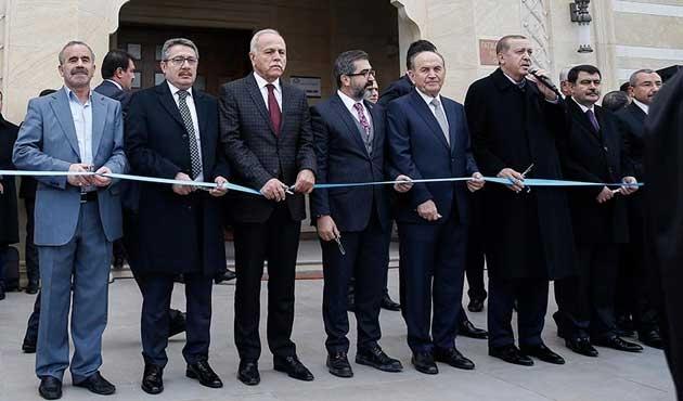 Erdoğan, İstanbul'da cami açılışı yaptı