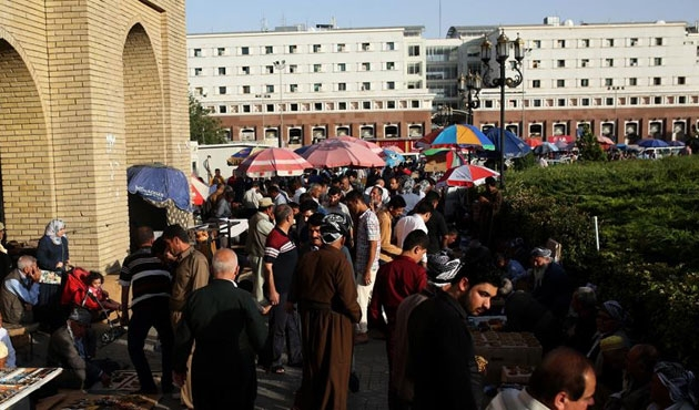 Irak'ta maaşlardan sığınmacılar için kesinti