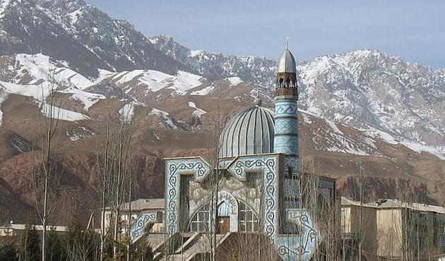 Kırgızistan'da Manas Destanı okuma etkinliği