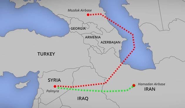 İran hava üssünü Rusya'ya 'gerekirse' açacak